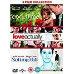 Love actually dvd Filmer About Time / Love Actually / Notting Hill (Triple Pack) [DVD]